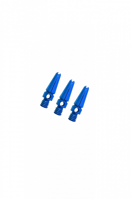 Aluminium Micro Shafts Blue 14mm