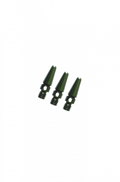 Aluminium Micro Shafts Green 14mm