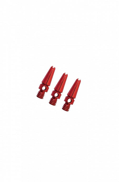 Aluminium Micro Shafts Red 14mm