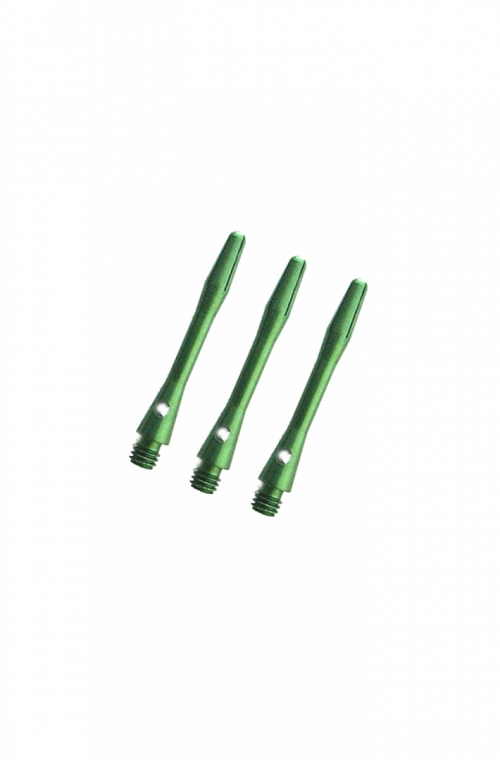 Aluminium Short Shafts Green 36mm