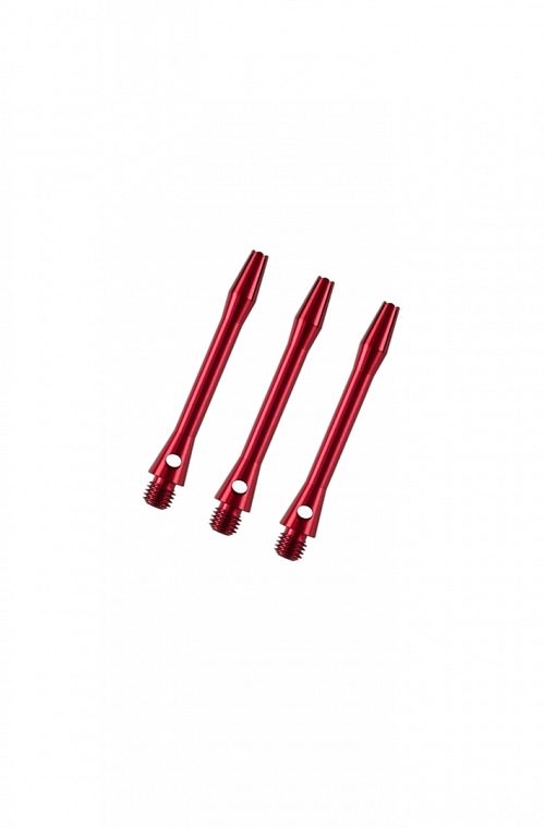 Aluminium Short Shafts Red 36mm
