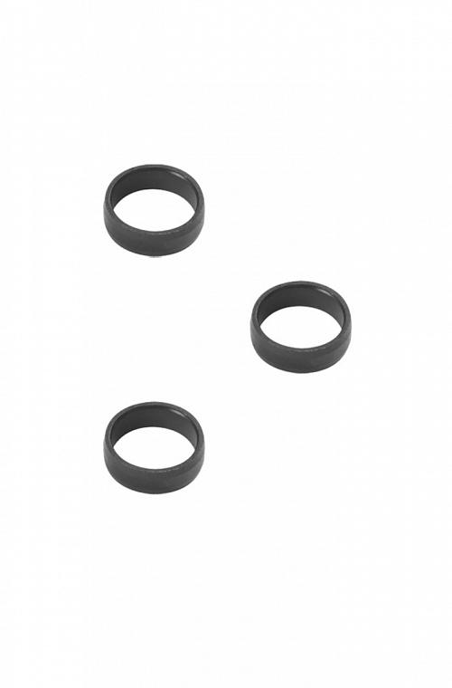 Arillos de Aluminio Target Negro