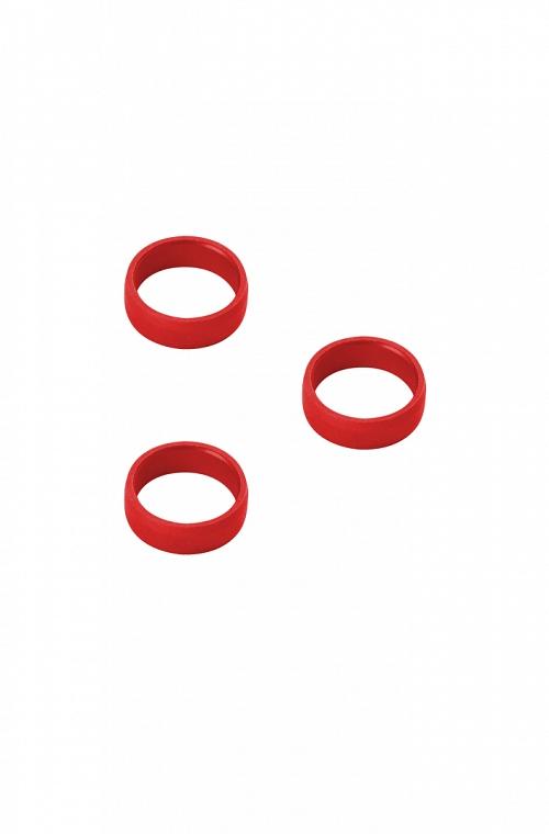 Arillos de Aluminio Target Rojo