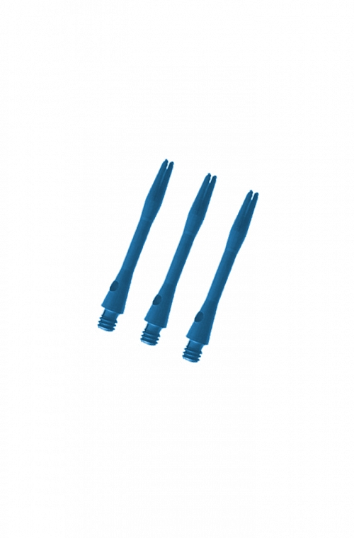Cañas Aluminio Cortas Azul 36mm