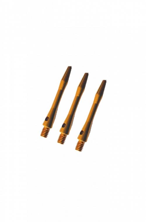 Cañas Aluminio Cortas Dorado 36mm