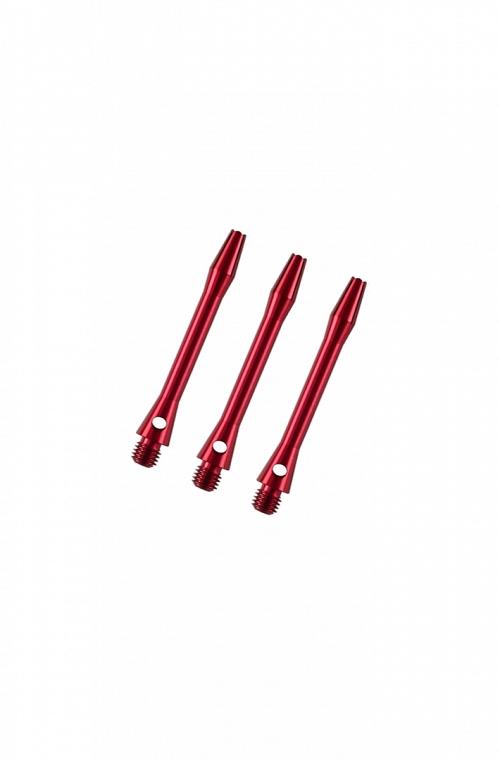 Cañas Aluminio Cortas Rojo 36mm