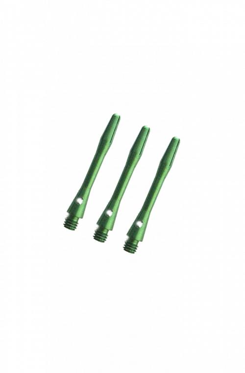 Cañas Aluminio Cortas Verde 36mm