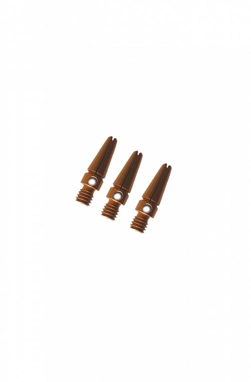 Cañas Aluminio Micro Dorado 14mm