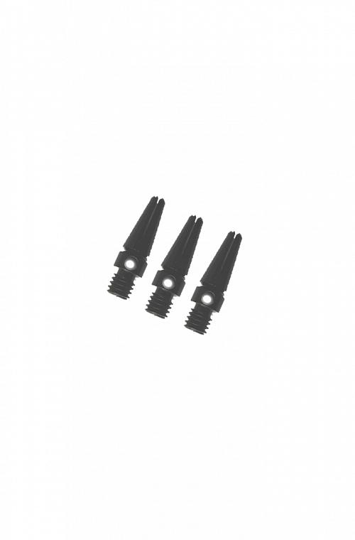 Cañas Aluminio Micro Negro 14mm