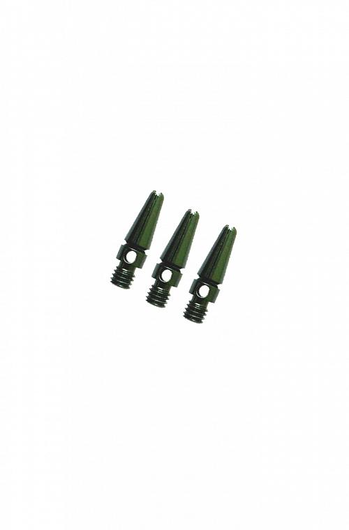 Cañas Aluminio Micro Verde 14mm