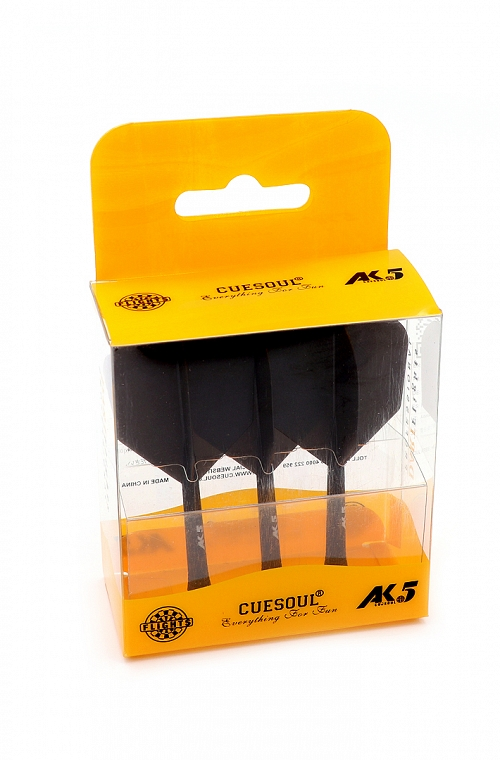 Cuesoul AK5 Shape Black Flights M