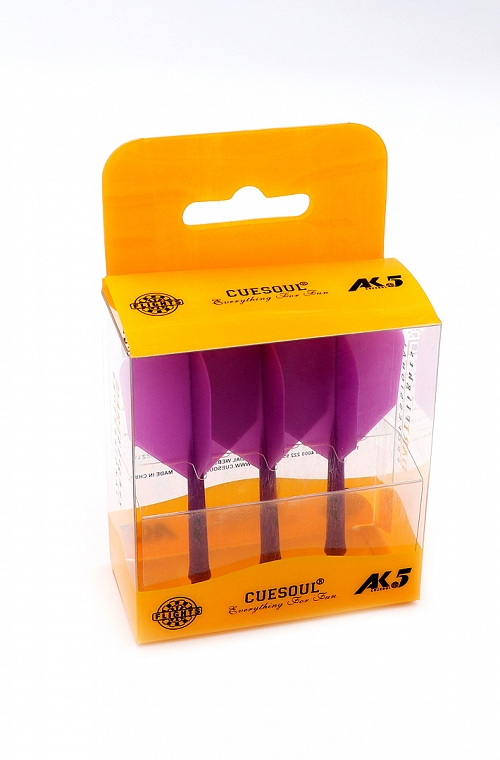 Cuesoul AK5 Shape Purple Flights