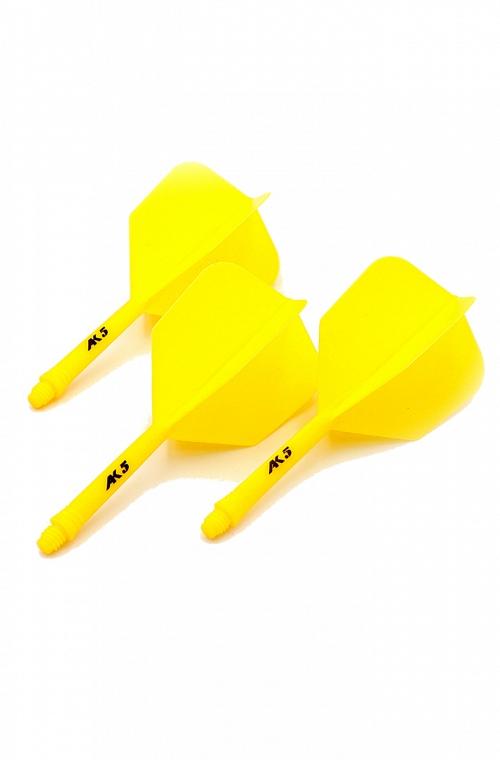Cuesoul AK5 Shape Yellow Flights L