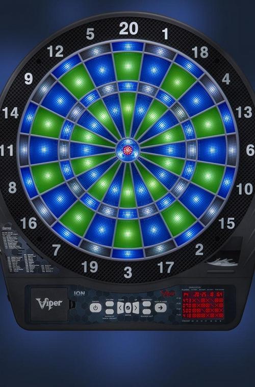 Electronic Viper ION Dartboard