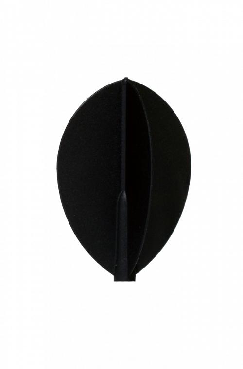 Fit Flight Oval D-Black 6 units
