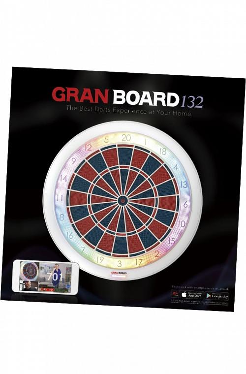 Grandboard 132 Dartboard White