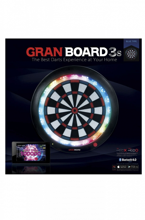 Grandboard 3s Dartboard Blue