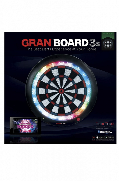 Grandboard 3s Dartboard Green