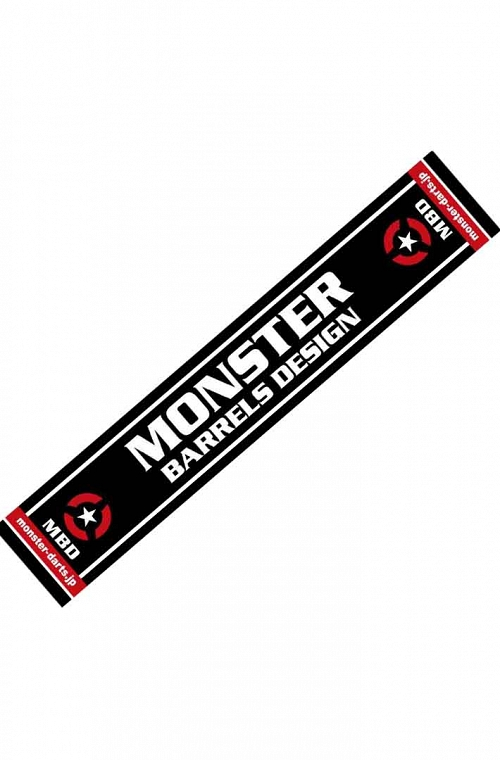 Hand Towel Monster Darts Black