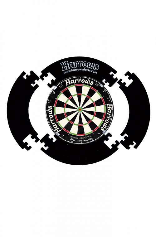 Harrows 4 Piece Surround Black