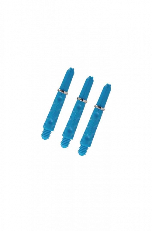 Harrows Dimplex Shafts Short Aqua