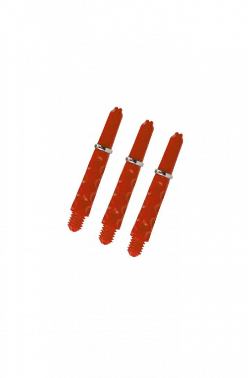 Harrows Dimplex Shafts Short Fire Red