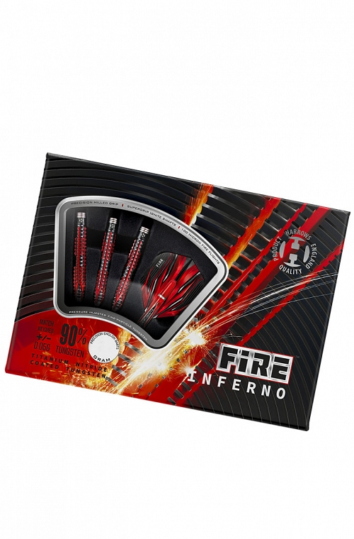 Harrows Fire Inferno Steel Tip Darts 23g