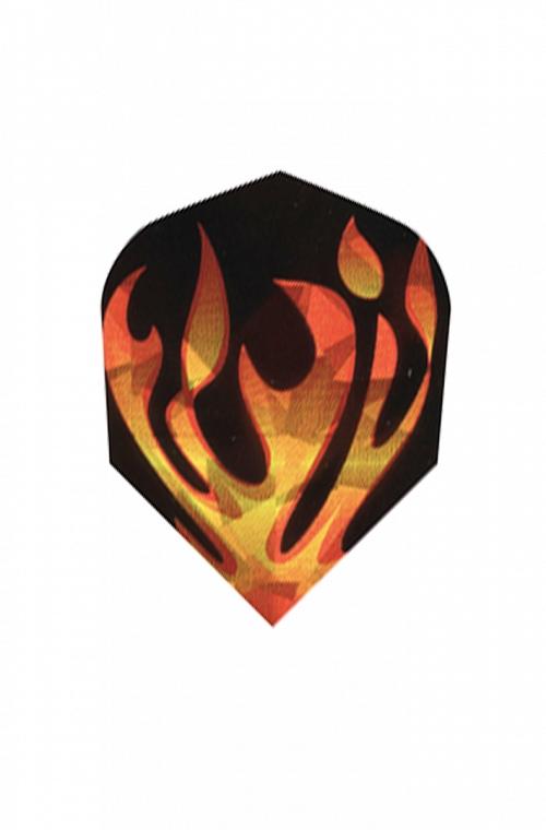 Harrows Hologram Flames Flights