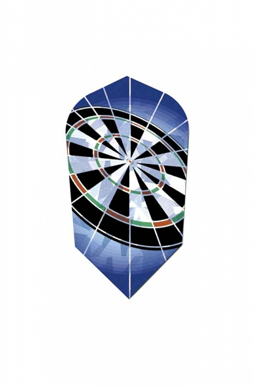 Harrows Hologram Slim Dartboard Flights