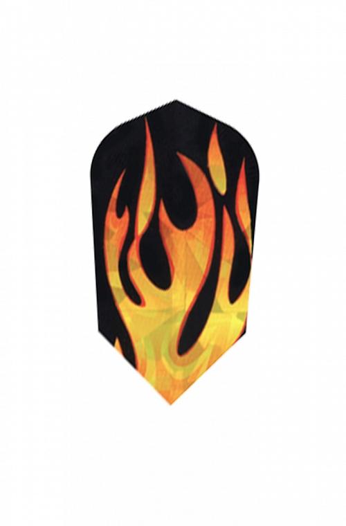 Harrows Hologram Slim Flames Flights
