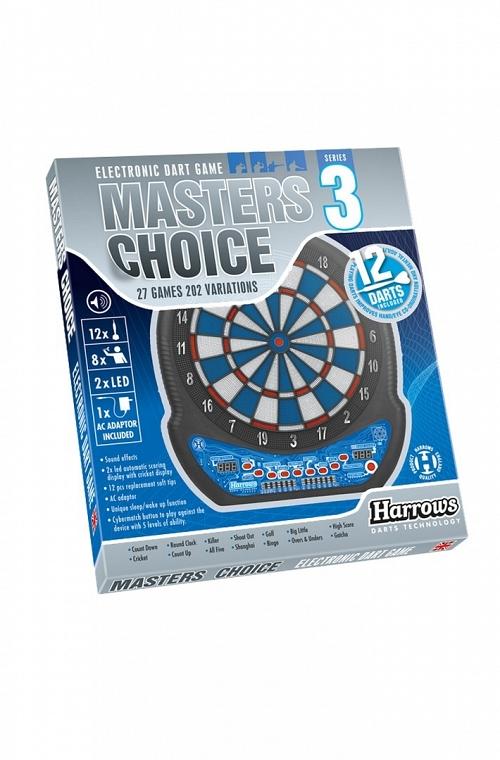 Harrows Master Choice Electronic Dartboard Series 3