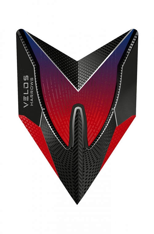 Harrows New Velos Red Flights