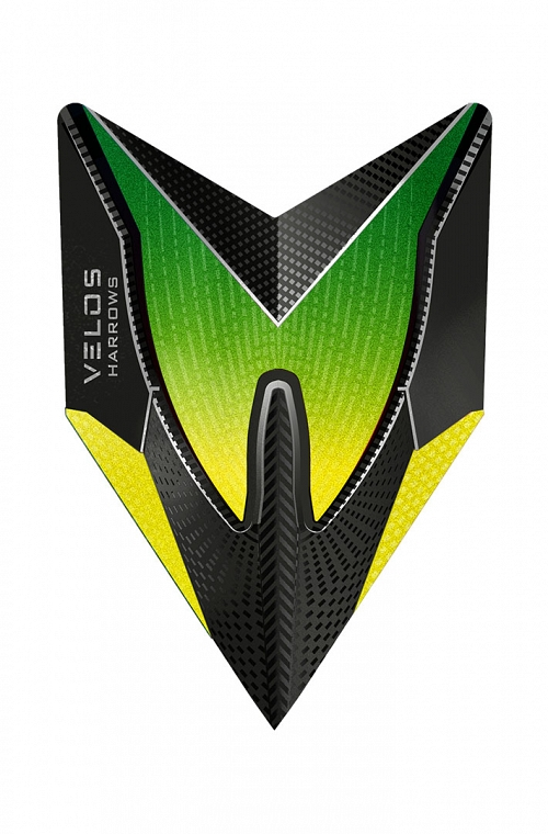 Harrows New Velos Yellow Flights