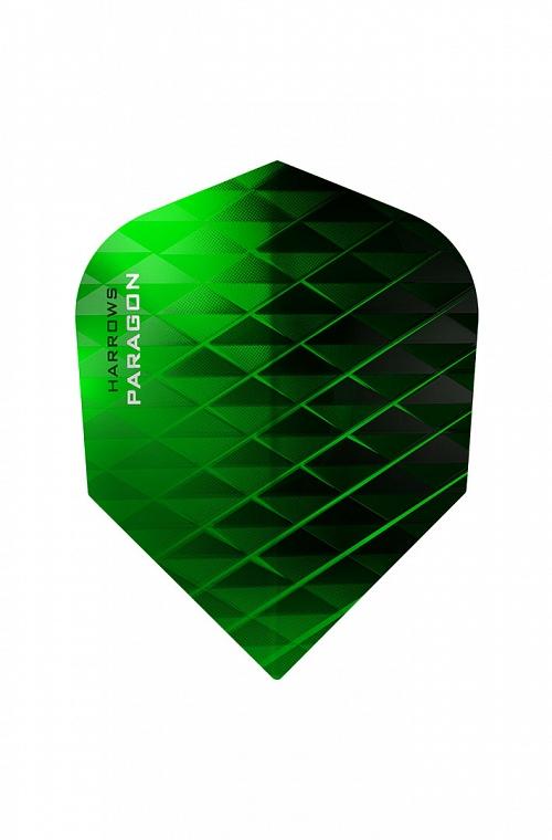 Harrows Paragon Flights Green