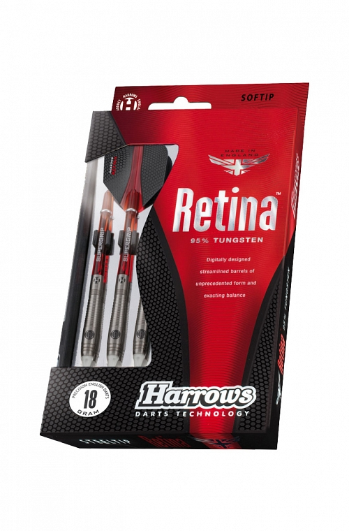 Harrows Retina Steel Tip Darts 24gR