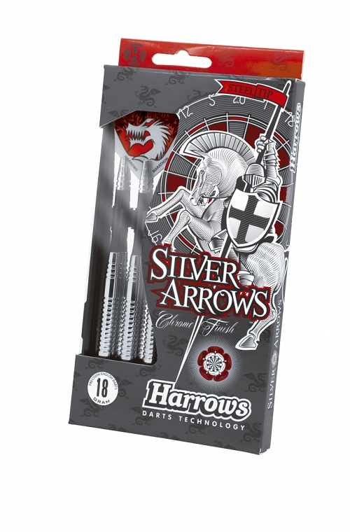 Harrows Silver Arrow Steel Tip Darts 24gK