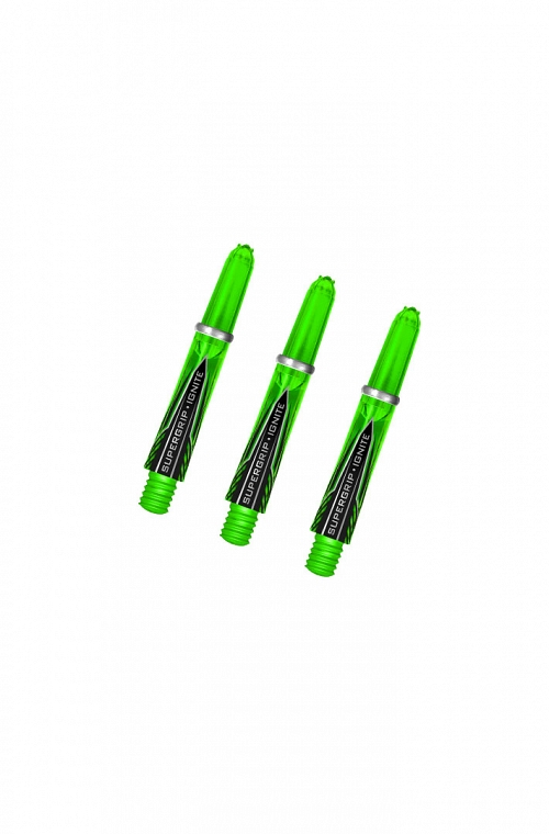 Harrows Supergrip Ignite Shafts Short Green
