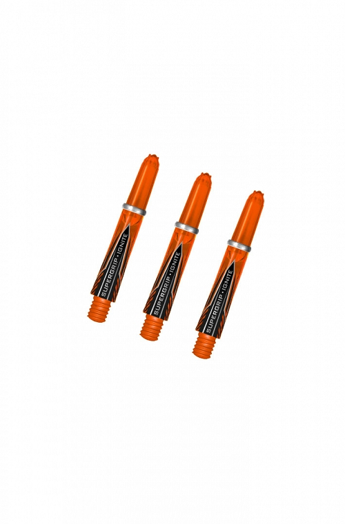 Harrows Supergrip Ignite Shafts Short Orange