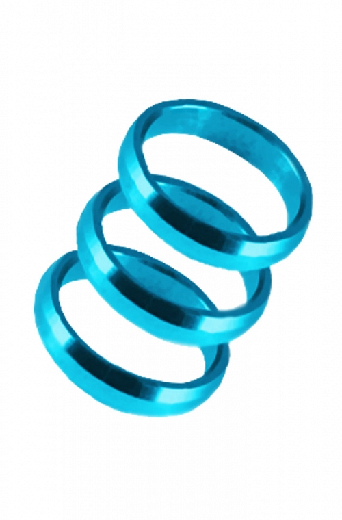 Harrows Supergrip Rings Blue