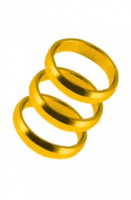 Harrows Supergrip Rings Dorado