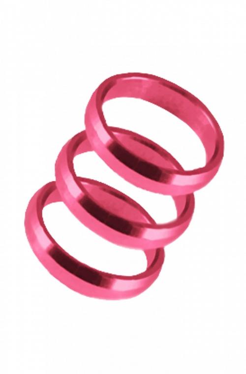 Harrows Supergrip Rings Pink
