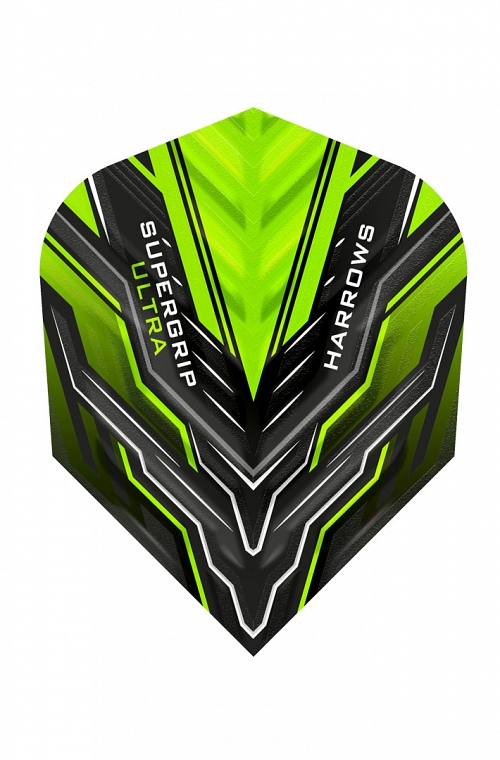 Harrows Supergrip Ultra Green Flights