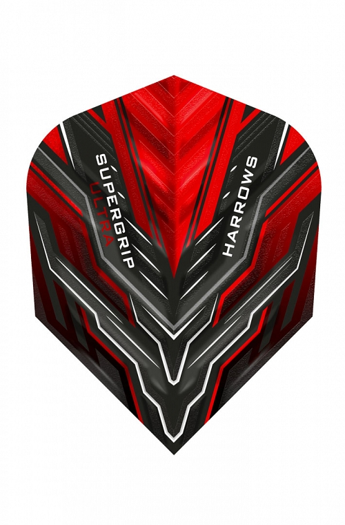 Harrows Supergrip Ultra Red Flights