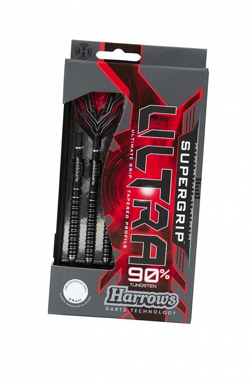 Harrows Supergrip Ultra Steel Tip Darts 21g