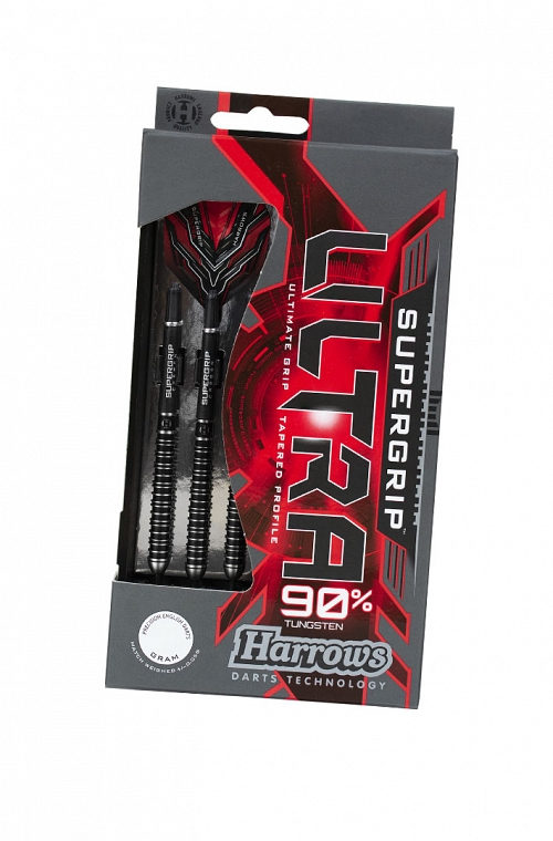 Harrows Supergrip Ultra Steel Tip Darts 22g