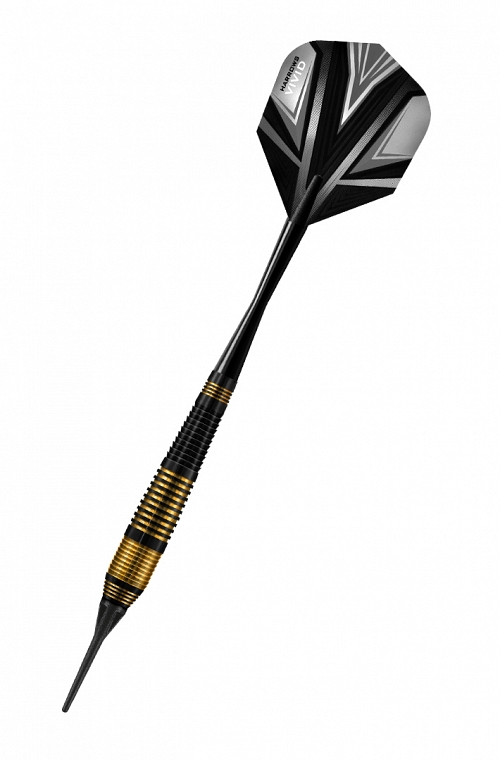 Harrows Vivid Black Darts 18gR