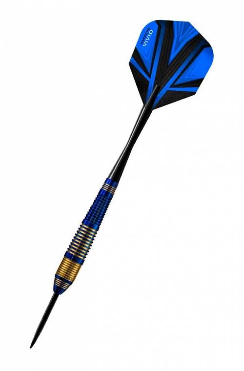 Harrows Vivid Blue Steel Tip Darts 21gR