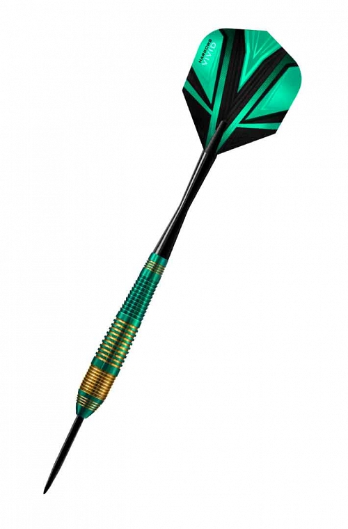 Harrows Vivid Green Steel Tip Darts 22gR