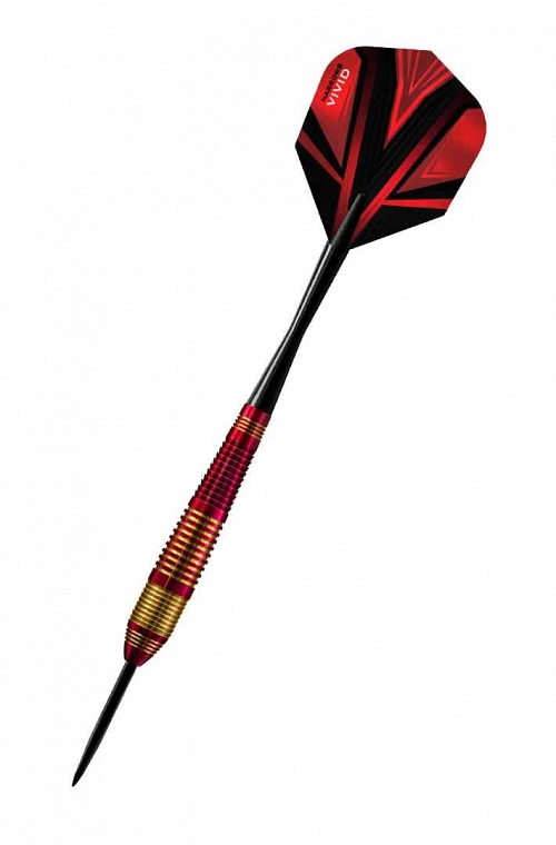 Harrows Vivid Red Steel Tip Darts 22gR