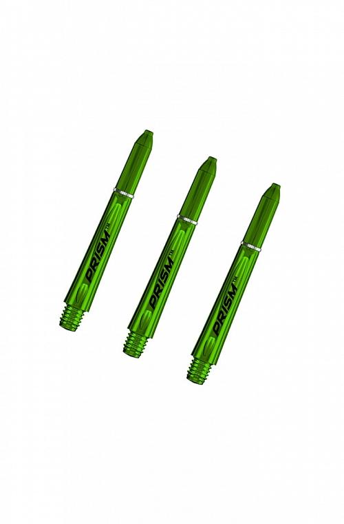 Hastes Winmau Prism 1.0 Curtas Verde